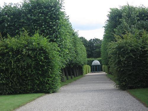 Великолепный барочный сад в Херренхаузен