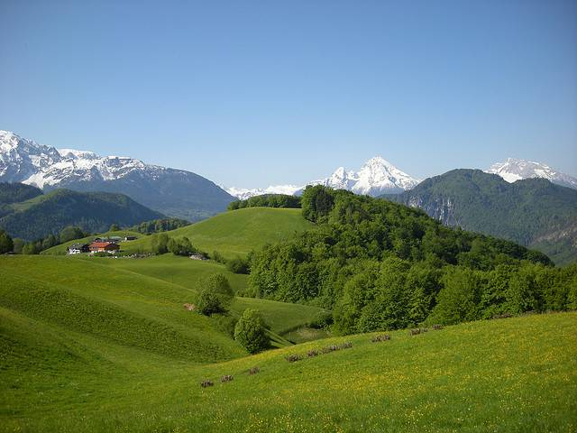 Ландшафты Баварии